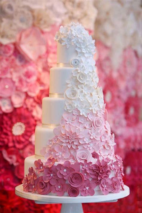 Hochzeitstorte Pink by كيكات زواج جديدة 2014 صور كيك فرح Yasmina