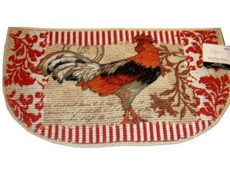 Country Kitchen Rugs Country Rooster Kitchen Rug