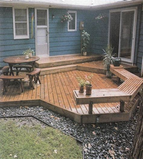Diy Backyard Deck Ideas by Deck For Small Backyard Yard Ideas