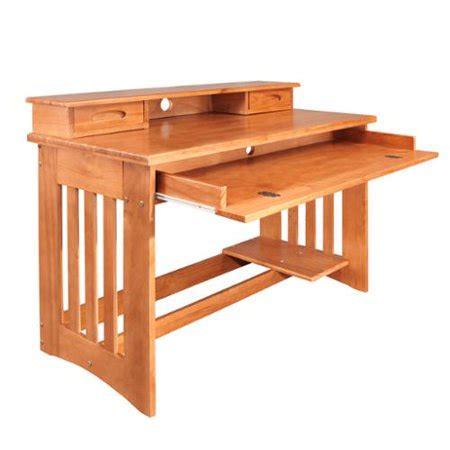 Pine Desk Hutch by American Furniture Classics Honey Solid Pine Student Desk