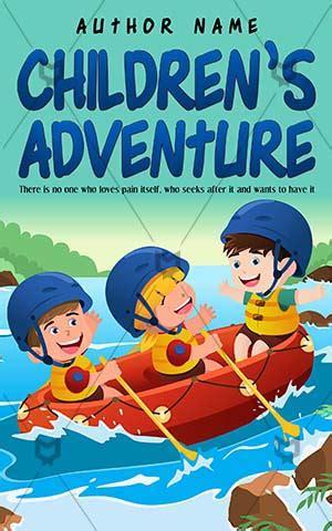 children s boat cartoon children book cover design beautiful garden