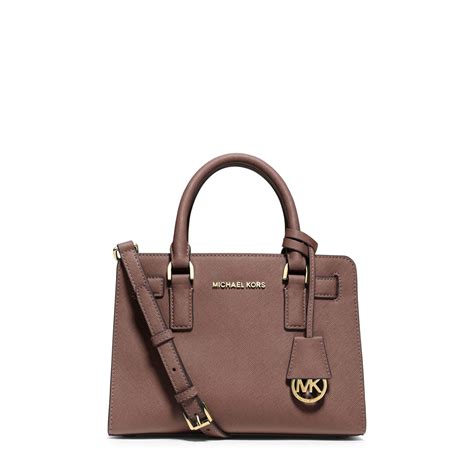 Small Satchel by Lyst Michael Kors Dillon Small Saffiano Leather Satchel