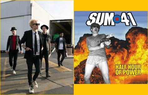 Sum 41 Half Hour Of Power Album Sum 41 Reissue Half Hour Of Power On Colored Vinyl