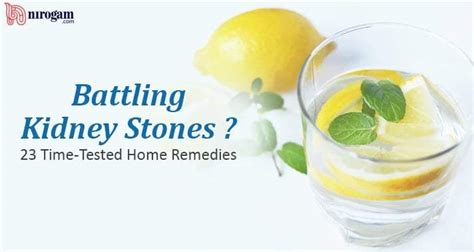 23 easy home remedies for kidney stones nirogam