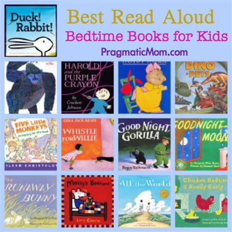 picture books for children best bedtime books to read aloud pragmaticmom