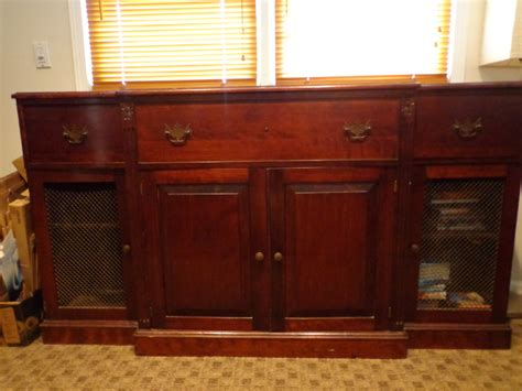 vintage stereo cabinet for sale for sale vintage davega stereo cabinet 75 summit nj patch