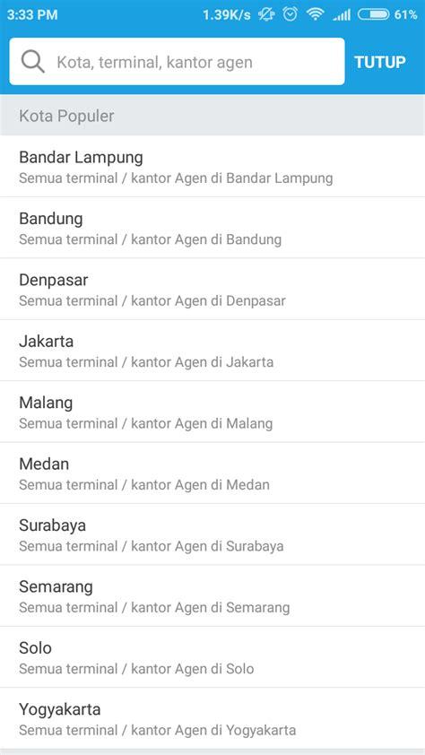 Traveloka Perkenalkan Fitur Pemesanan Tiket Bus   Dailysocial