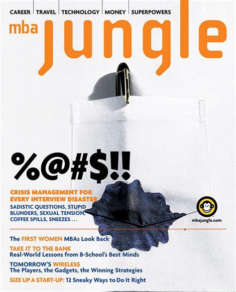 Mba Jungle Magazine mba jungle magazine on behance