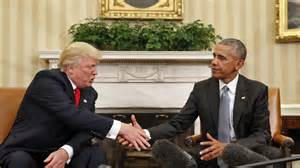 donald and president obama meet at white house