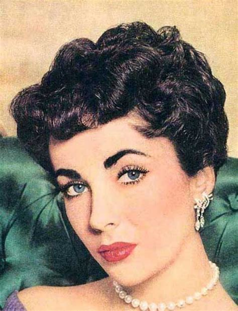 1950 italian hairstyles curly short 50s hair jpg 500 215 652 pixels hair