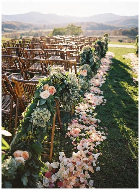 Wedding Aisle by Best 20 Flower Petal Aisle Ideas On