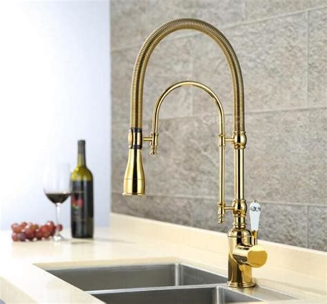 european style kitchen faucets brass kitchen taps 103883613 european style brass gold chrome finished kitchen faucet