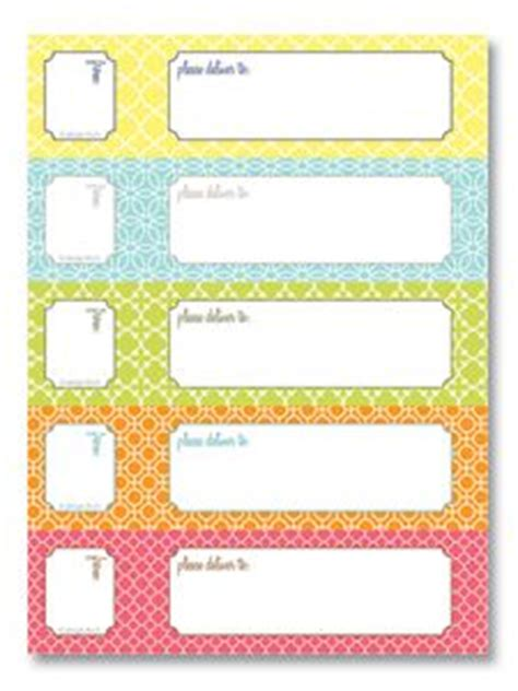 Super Cute Free Printable Labels That You Can Print Onto Avery Adhesives Use For Labeling Free Mailing Labels Template 2