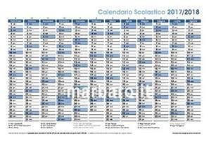 Calendario 2018 Feste Calendario Scolastico 2017 2018 Da Stare