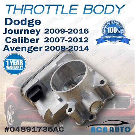 electronic throttle control 2011 dodge journey user handbook throttle body for dodge caliber avenger journey with 1 8l 2 0l 2 4l 2007 2016