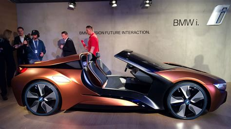 about bmw cars smart car bmw s vision of tomorrow s high tech car in