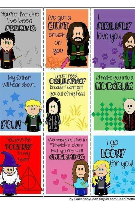 harry potter valentines cards harry potter stuff