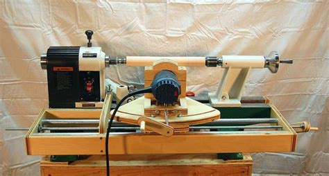 wood lathe router jig toy chest bench plans