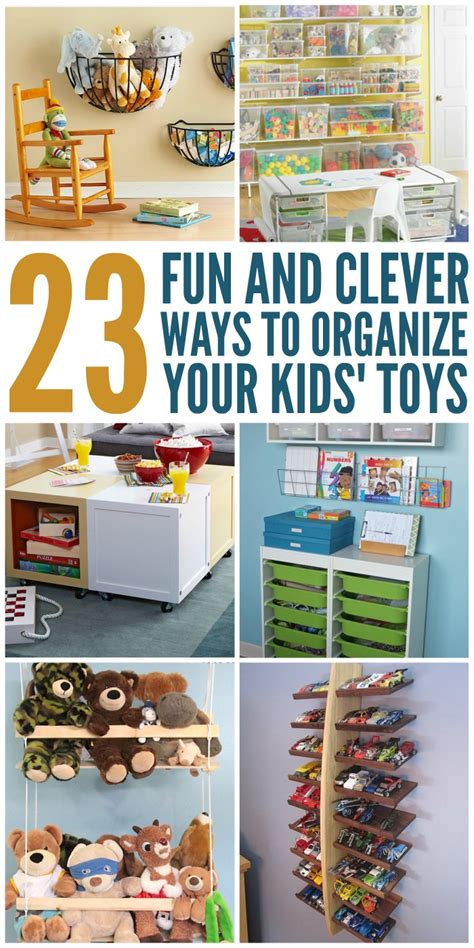 pictures diy ideas for organizing your shop 23 and clever ways to organize toys