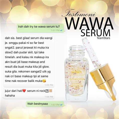 yaya natsumi official blog review wawa serum skin