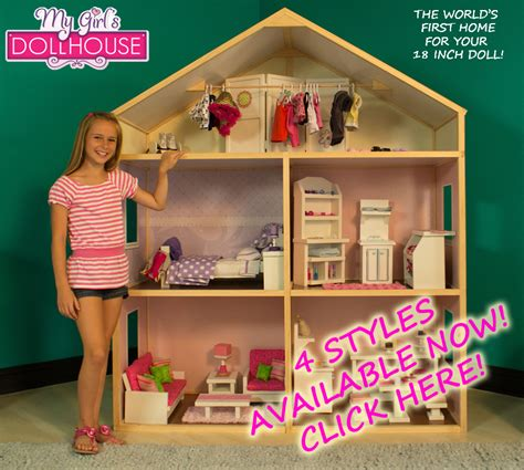 18 inch doll house american girl doll play dollhouse for 18 inch dolls by my