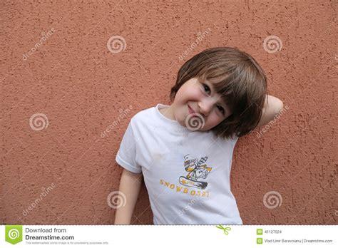 toddler boy long hair long hair toddler boy stock photo image 41127024