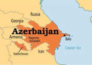 russia map azerbaijan azerbaijan operation world