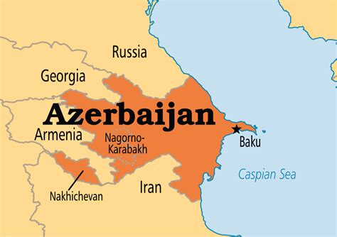 baku on world map azerbaijan operation world