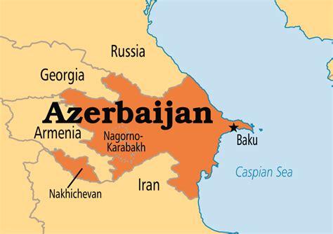 where is azerbaijan on a world map azerbaijan operation world