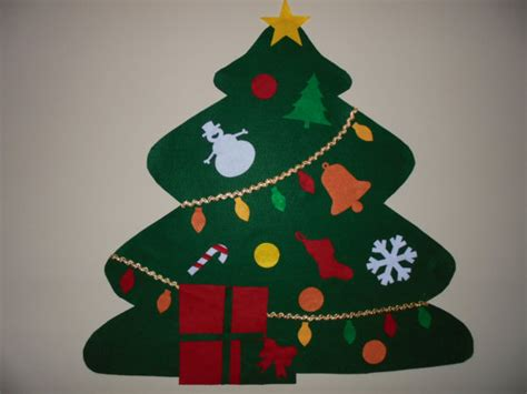 felt christmas tree sale wall hanging decorate by greatgifts