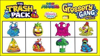 grossery gang trash pack challenge blind boxes amp surprise toys unboxing video