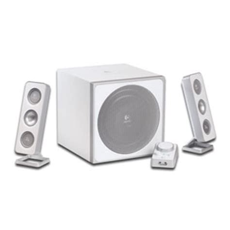Logitech Z 4i 2 1 Speaker System logitech z 4i 2 1 3 white 40 watt speakers with