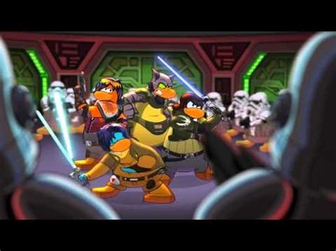 club penguin star wars rebels takeover behind the scenes sneak club penguin star wars rebels takeover commercial on