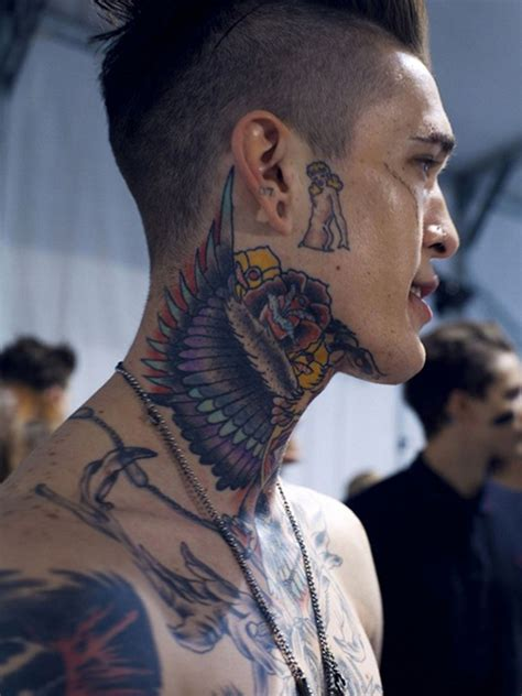 side neck tattoos 75 best neck tattoos for and designs