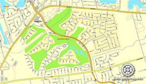 houston map america houston us printable vector city plan map 6