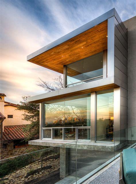 beautiful contemporary homes passive solar house  texas