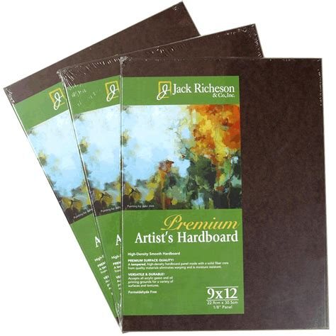 Jack Richeson Harboard Panels Artist Painting Panels