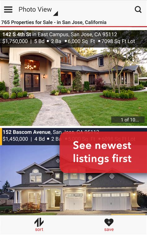 realtor real estate homes screenshot