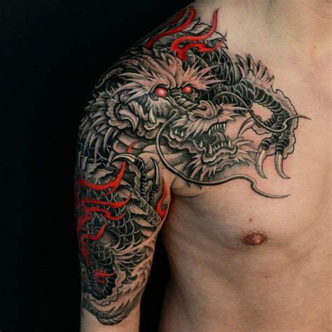 chinese sleeve tattoos asian black and grey archives chronic ink
