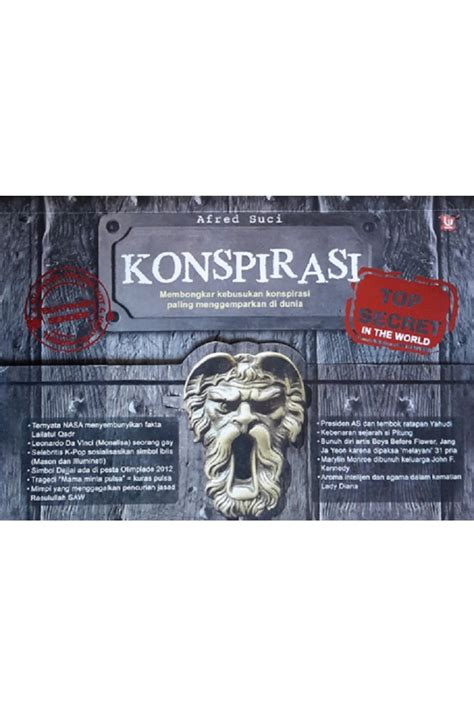 Top Secret Konspirasi By Buku Gaul konspirasi top secret in the world