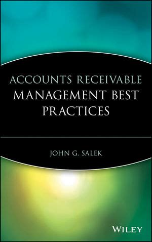 the accounting tabloid receivables simply explained books wiley accounts receivable management best practices
