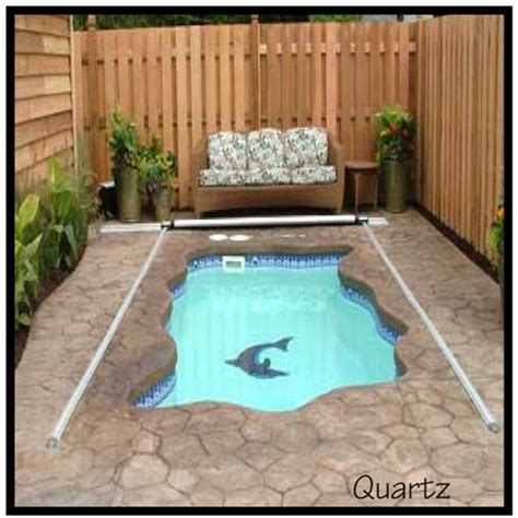 small backyard pools cost this small inground pool cost about 3 500 i