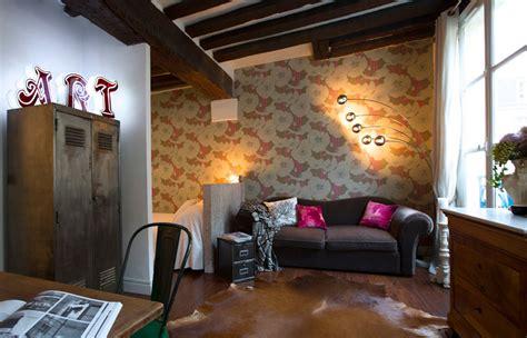 a paris studio apartment by the new design project