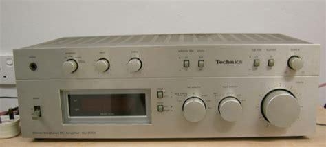technics su  integrated amp