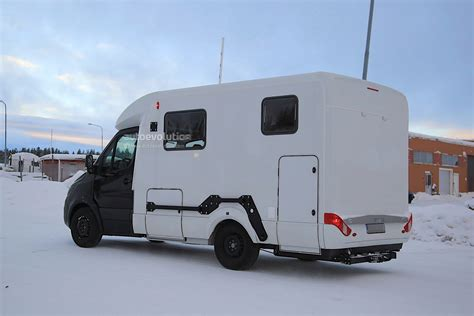 Mercedes Sprinter Caravan by Mercedes Sprinter Spotted Testing Caravan Conversion
