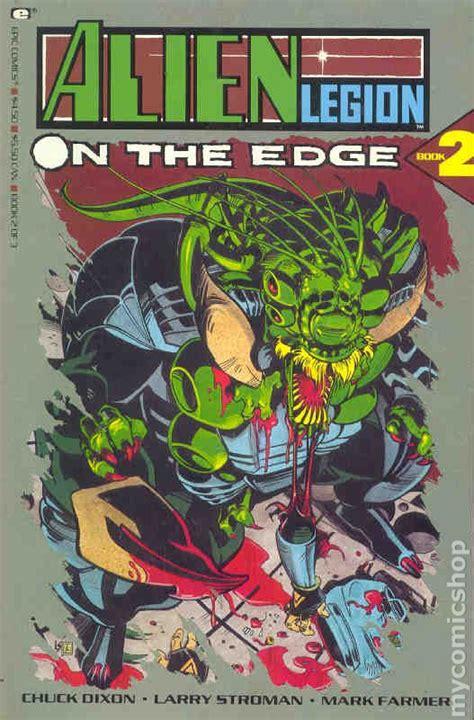 edge of the legionnaires books legion on the edge 1990 comic books