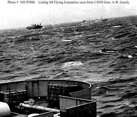 ship flying enterprise civilian ships ss flying enterprise 1944 1952
