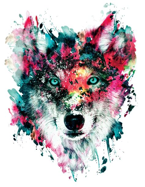 watercolor wolf tutorial wolf art print watercolor art wild animals and wolf
