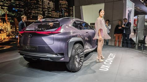 lexus suv inside lexus flips the suv inside out with the ux concept at