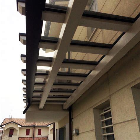 tettoie in legno e policarbonato pensilina con policarbonato ppp405